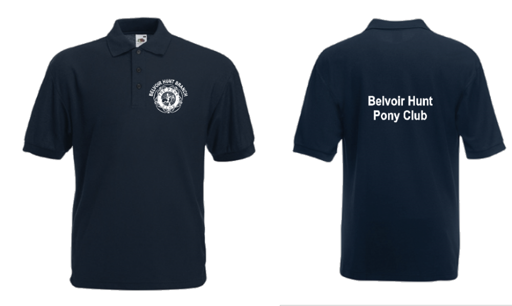 ADULT Belvoir Navy Polo Shirt